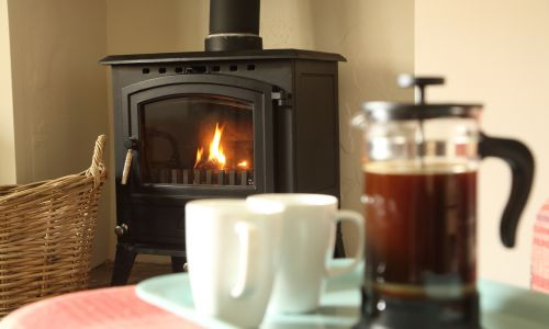 West View log burner