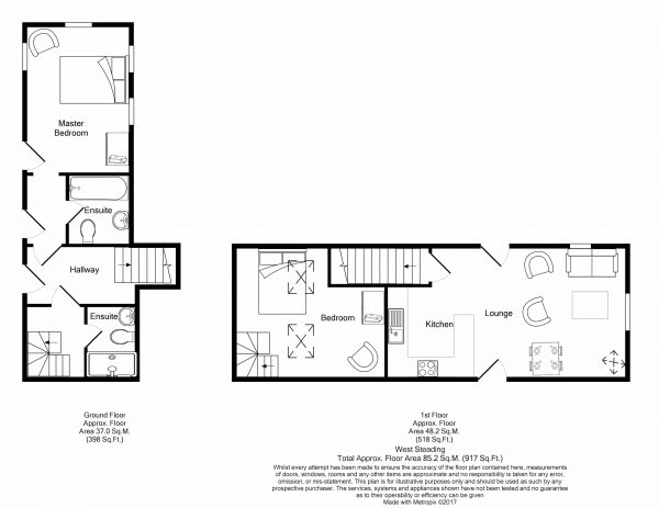 West Steading - Floor Plan
