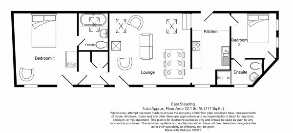 East Steading - Floor Plan