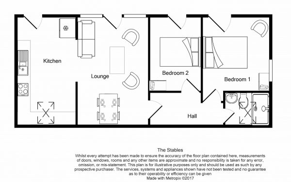 The Stables - Floor Plan