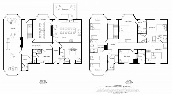 Hollins Lodge - Floor Plan